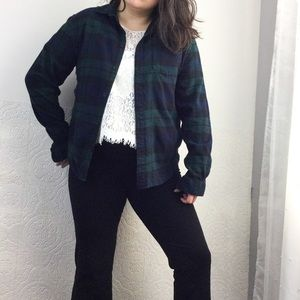 Urban Outfitters tartan plaid flannel shirt L